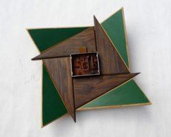 Holz-Metall-Objekt-3