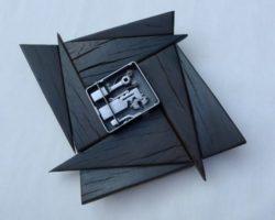 Holz-Metall-Objekt-IV